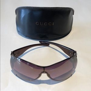 Gucci woman's horsebit sunglasses GG2764S brown